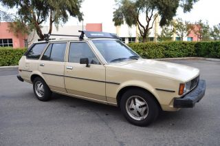 1981 Toyota Corolla Te72 Wagon Deluxe A / C Title Alloy Wheels photo