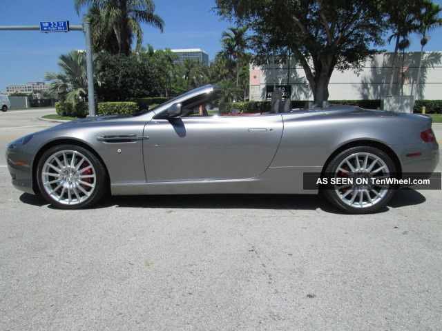 2007 aston martin db9 volante convertible 2 door 6 0l. Black Bedroom Furniture Sets. Home Design Ideas