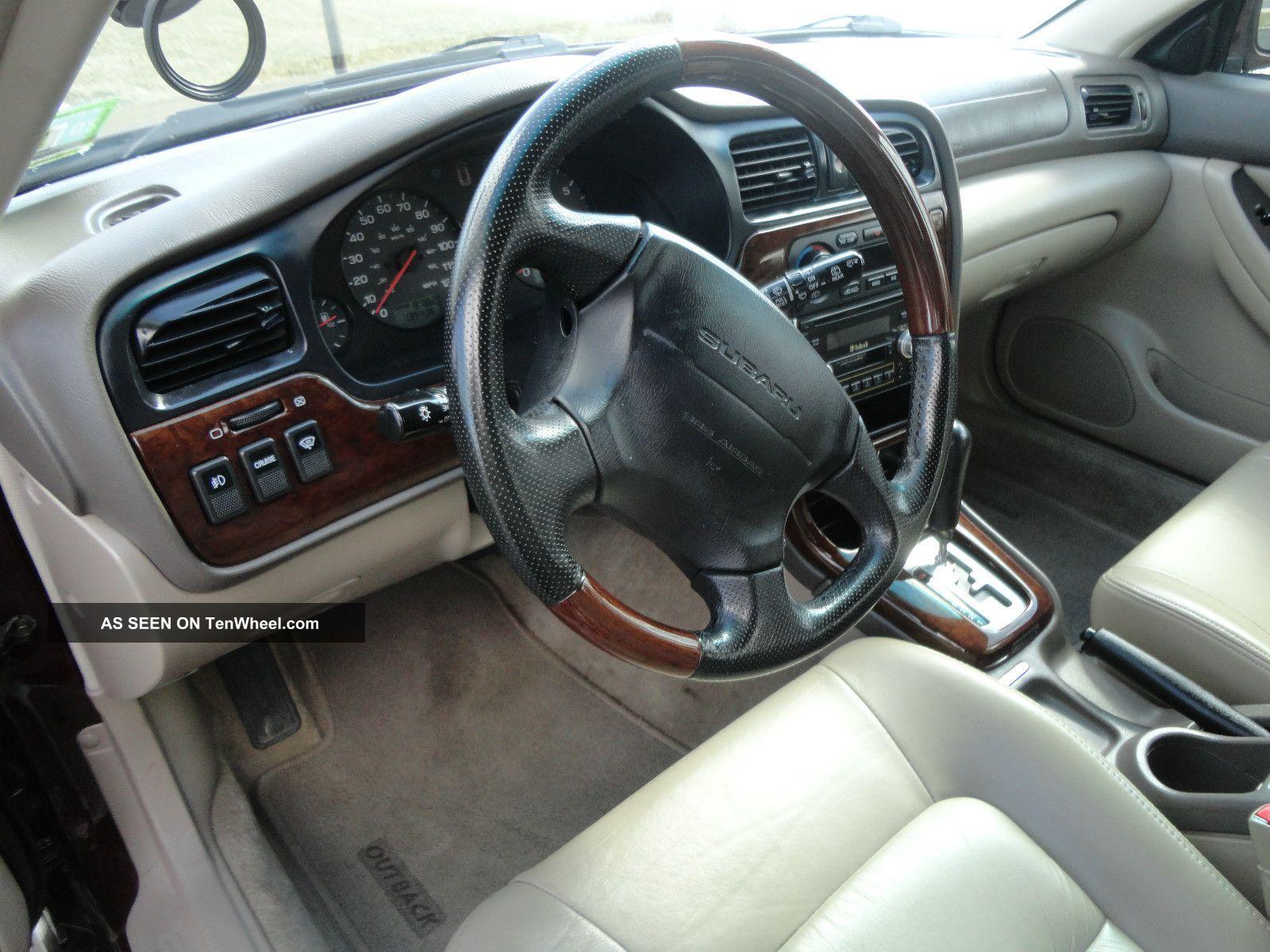 2001 Subaru Outback H6 3 0 Interior