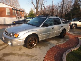 2003 Subaru Baja Sport Crew Cab Pickup 4 - Door 2.  5l Silver 4 Cylinder Rims Pickup photo
