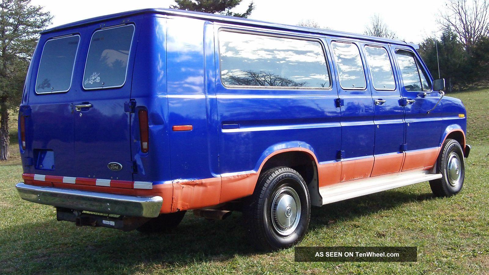 1985 ford econoline cargo van. Black Bedroom Furniture Sets. Home Design Ideas