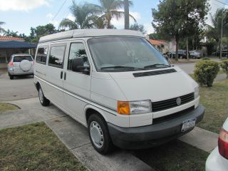 1995 Volkswagen Eurovan Camper Van Camper 3 - Door 2.  5l photo
