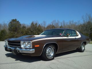 1974 Plymouth Road Runner 28k Mile Survivor,  Rust,  Paint photo