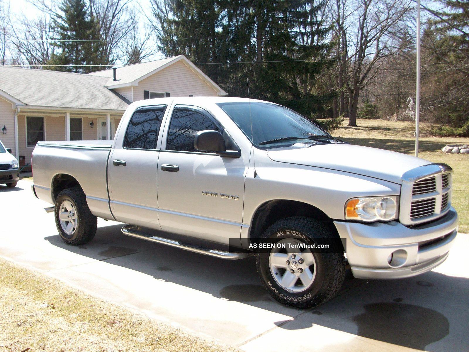 2003 Dodge Ram 1500 Slt Crew Cab Pickup 4