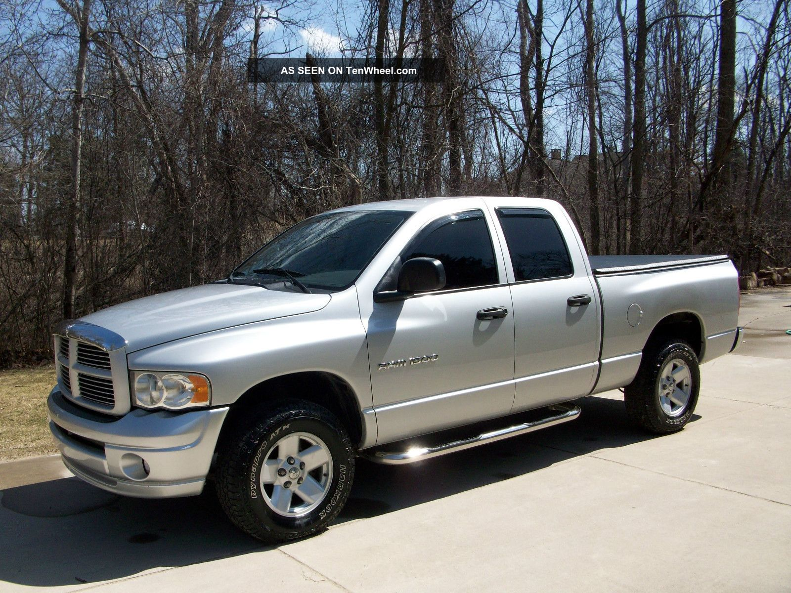2003 Dodge Ram 1500 Slt Crew Cab Pickup 4 - Door 4. 7l