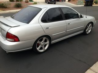 2002 Nissan Se - R Spec V, ,  Fast,  Lots Of Torque,  Exhaust,  Headers,  6 - Speed,  Silver photo