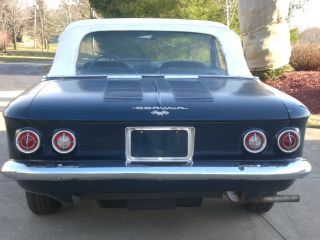 1963 Chevrolet Corvair Convertible Barn Find photo