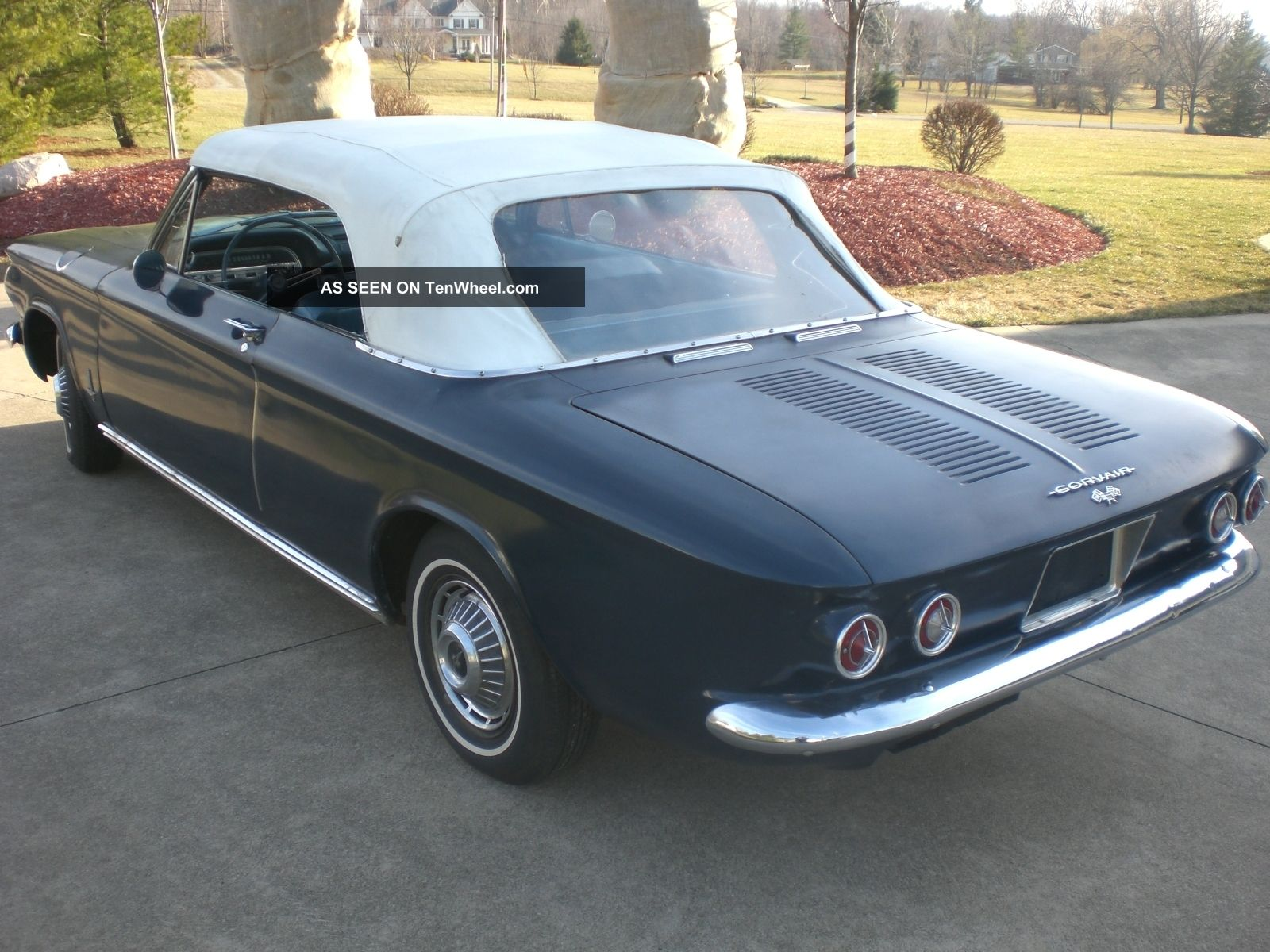 1963 Chevrolet Corvair Convertible Barn Find