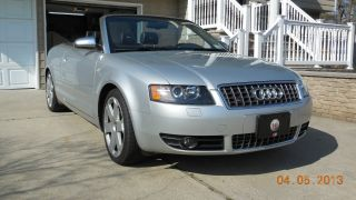 2005 Audi S4 Cabriolet Convertible 2 - Door 4.  2l photo