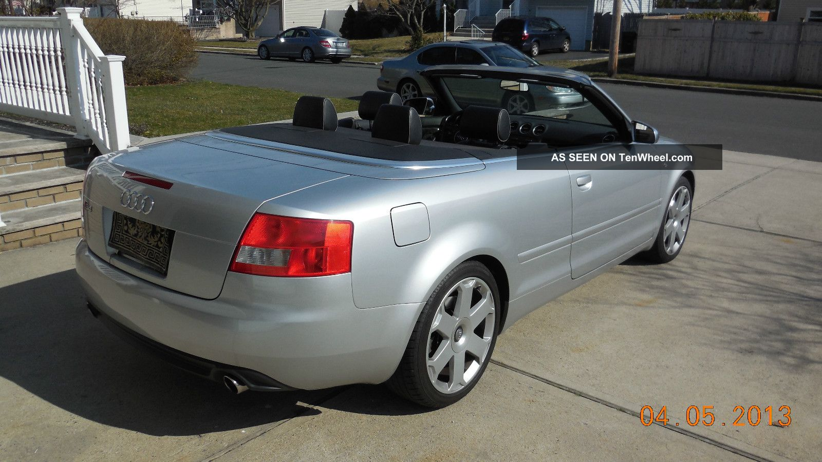 2005 audi s4 cabriolet convertible 2 door 4 2l. Black Bedroom Furniture Sets. Home Design Ideas