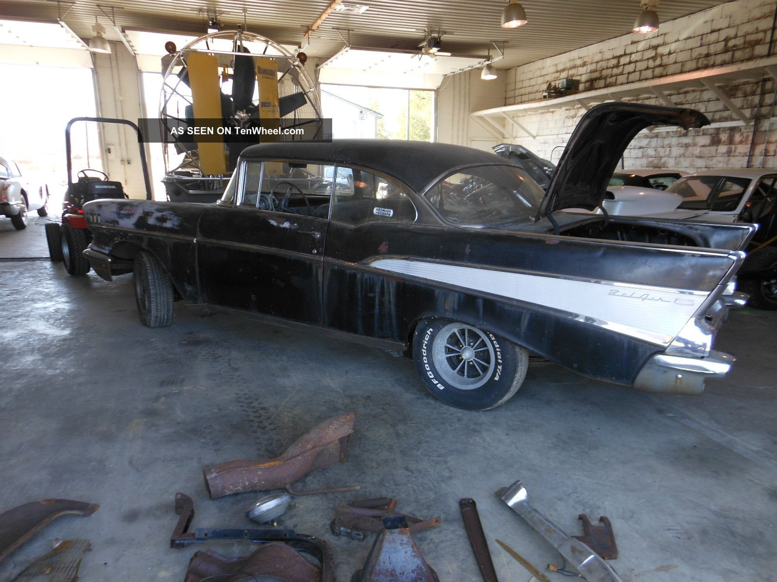 1957 Chevy Belair 2 Door Hardtop 150 250 Cheverolet Bel Air