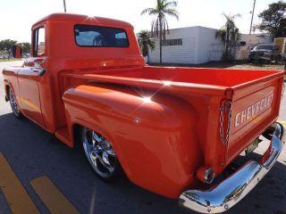 1959 Chevrolet Apache Slammed Hot Rod Pick Up Show Truck photo