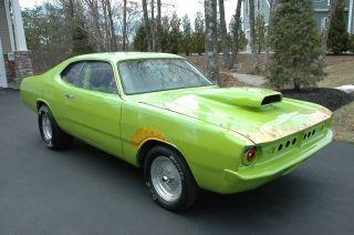 1972 Dodge Dart Demon Drag Race Car Pro Street Muscle Classic Rare Fun Modified photo