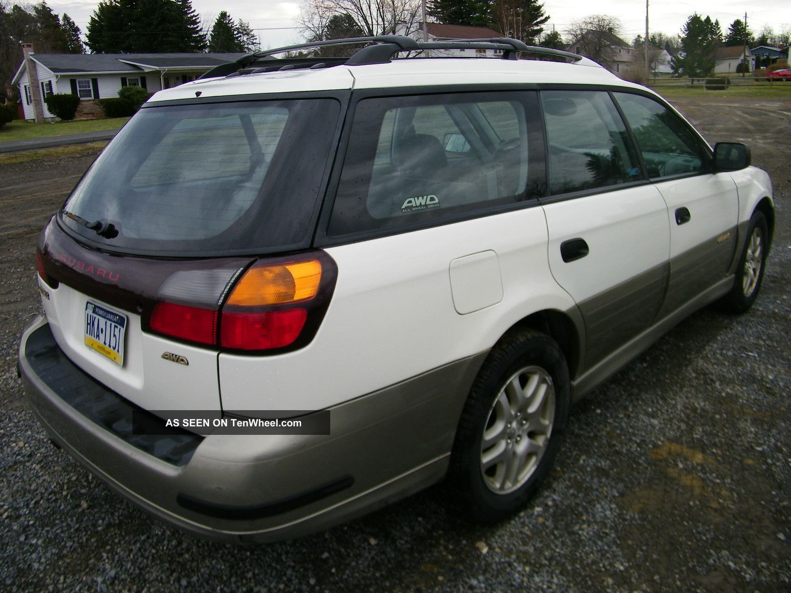 2000 Subaru Outback Engine