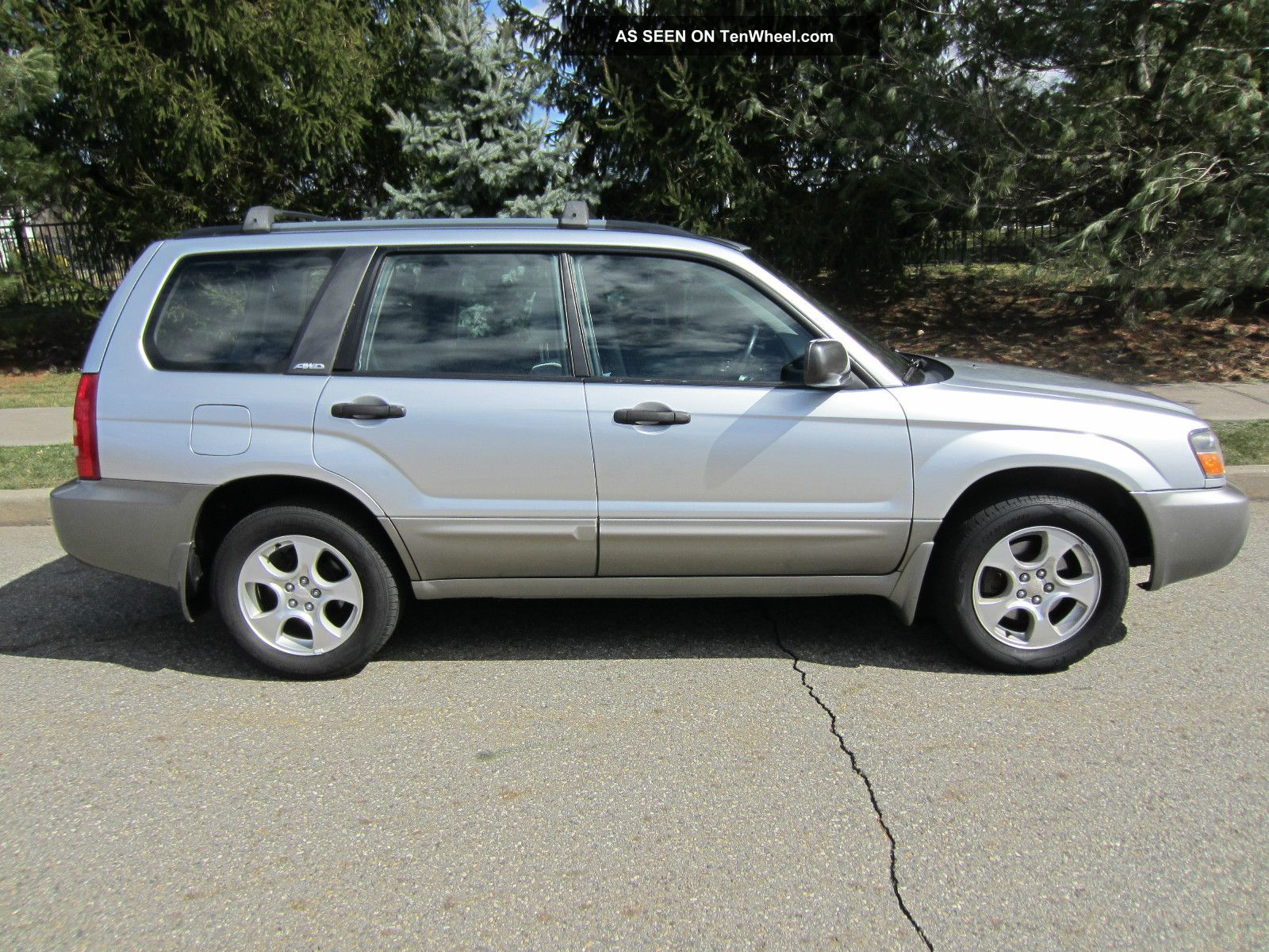2003 Subaru Forester Xs Runs 100 Near Perfect Body