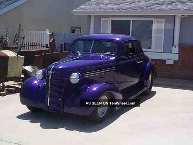 1938 Chevrolet Coupe - Street Rod - Hot Rod - Tubbed - Classic Car Other photo