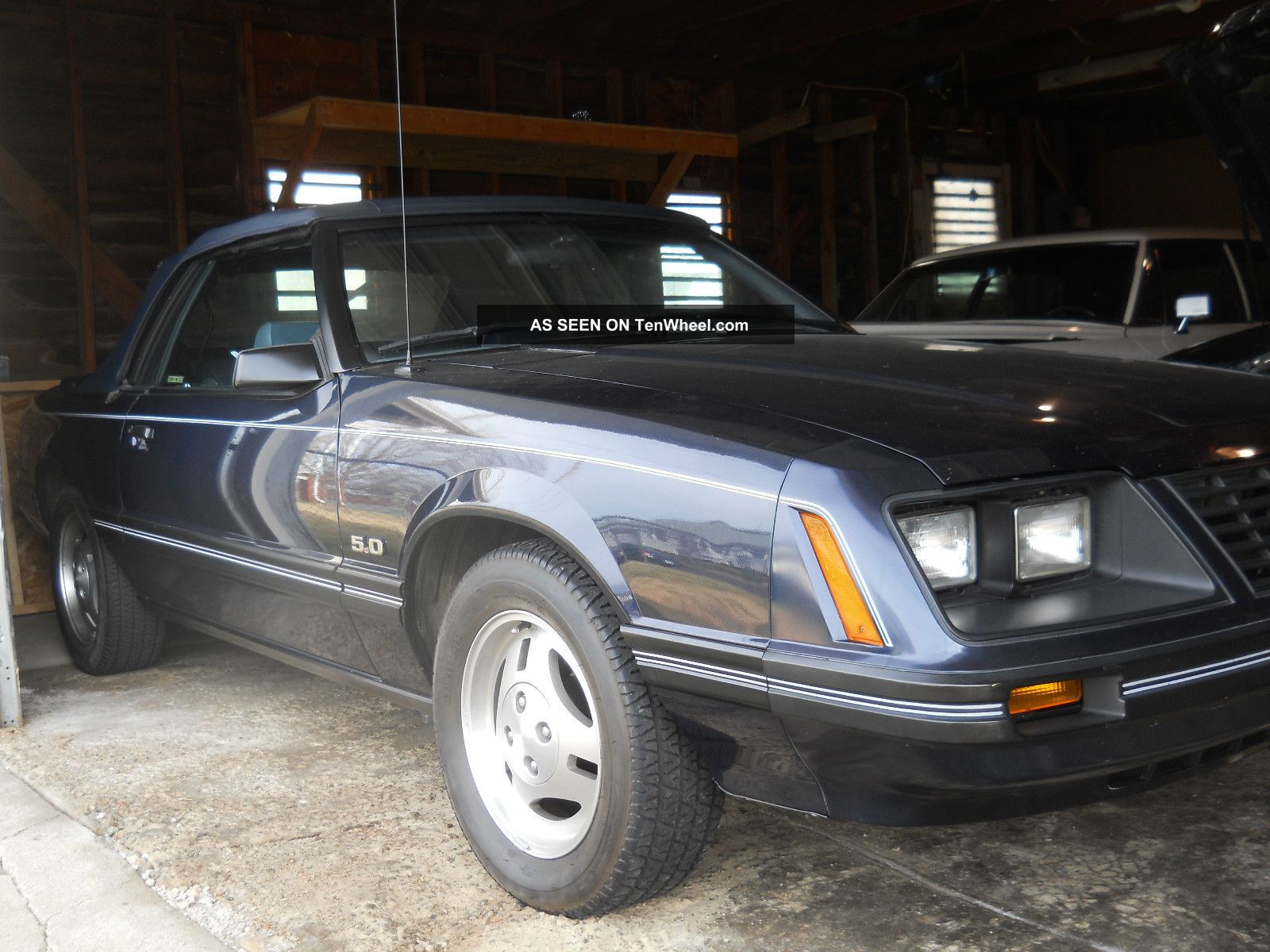 1983 ford mustang 5 0 glx convertible. Black Bedroom Furniture Sets. Home Design Ideas