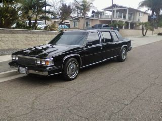 1985 Cadillac Fleetwood Series 75 Limousine photo