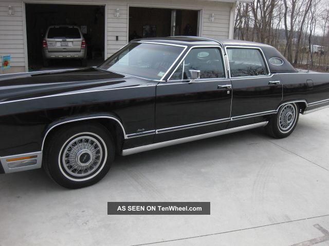1979 black lincoln town car. Black Bedroom Furniture Sets. Home Design Ideas