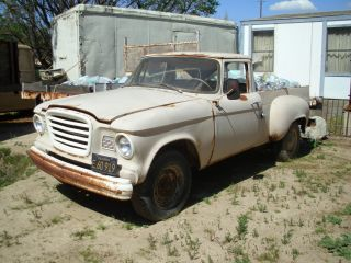 1960 Studebaker P / U,  V / 8,  3 On The Tree,  Needs Love photo