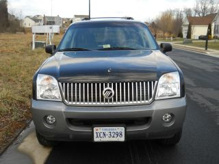 2002 Mercury Mountaineer Base Sport Utility 4 - Door 4.  0l photo