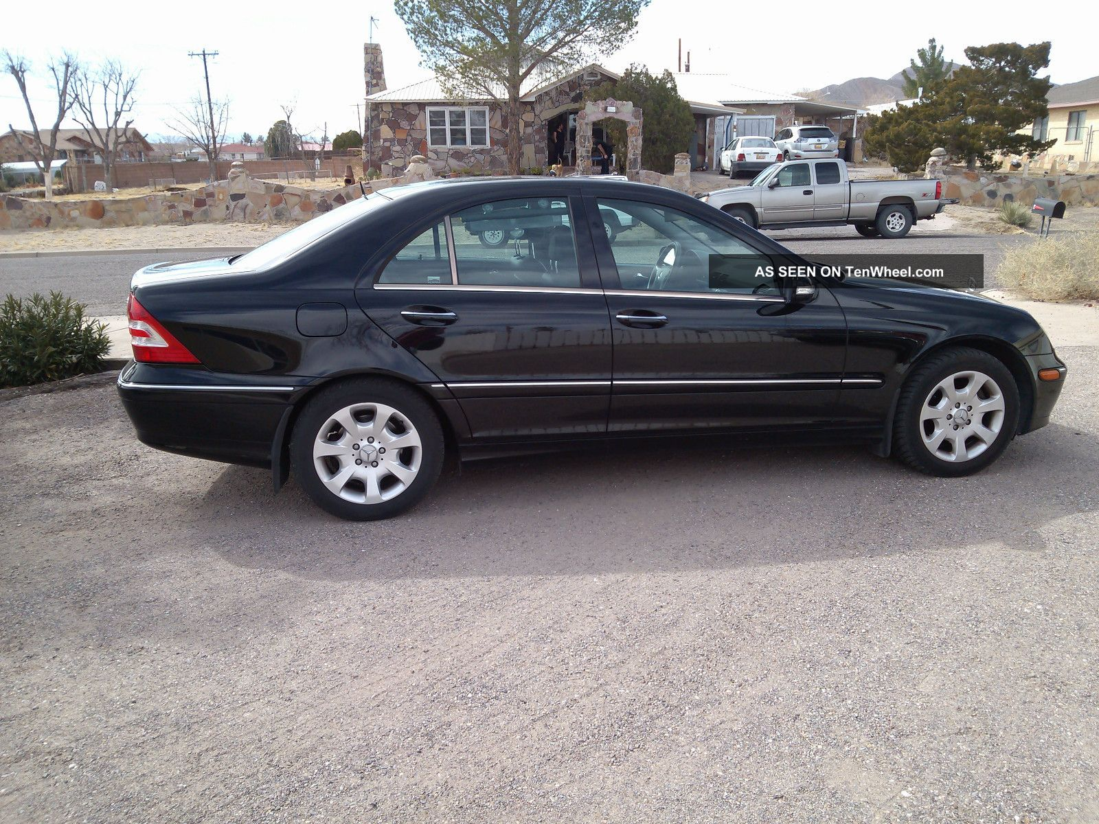 2005 mercedes benz c320 4matic black