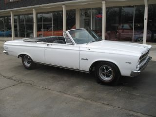 1965 Plymouth Satellite Convertible Factory 383 Recent Restoration photo