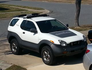 1999 Isuzu Vehicross Sport Utility - Ironman Triathalon Edition White photo