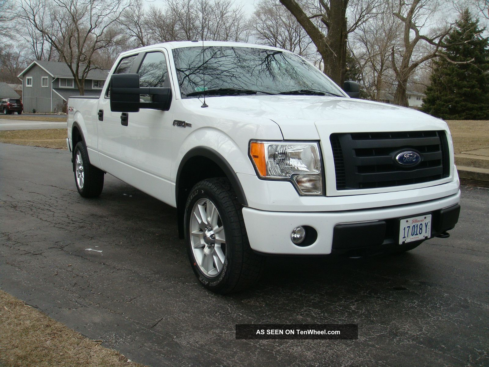 2010 ford f 150 fx4 crew cab pickup 4 door 5 4l. Black Bedroom Furniture Sets. Home Design Ideas