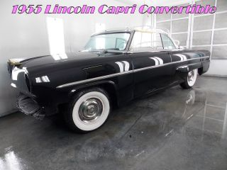 1955 Lincoln Capri Convertible photo