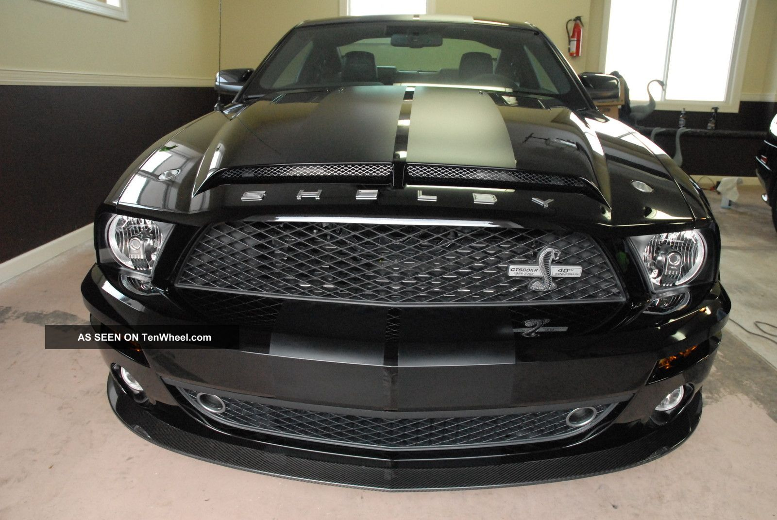 2008 ford mustang shelby gt 500 kr coupe 1 1000 limited. Black Bedroom Furniture Sets. Home Design Ideas