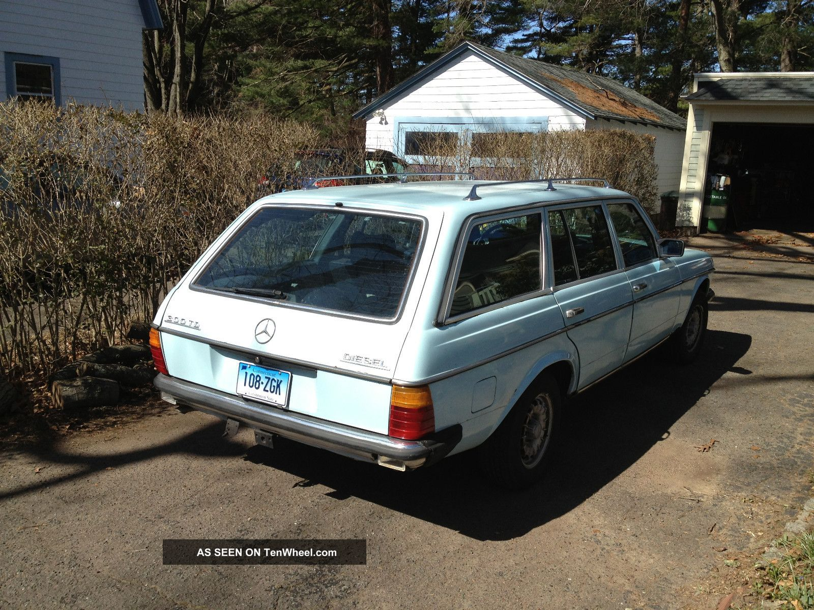 1979 300td mercedes benz diesel wagon 4 speed manual