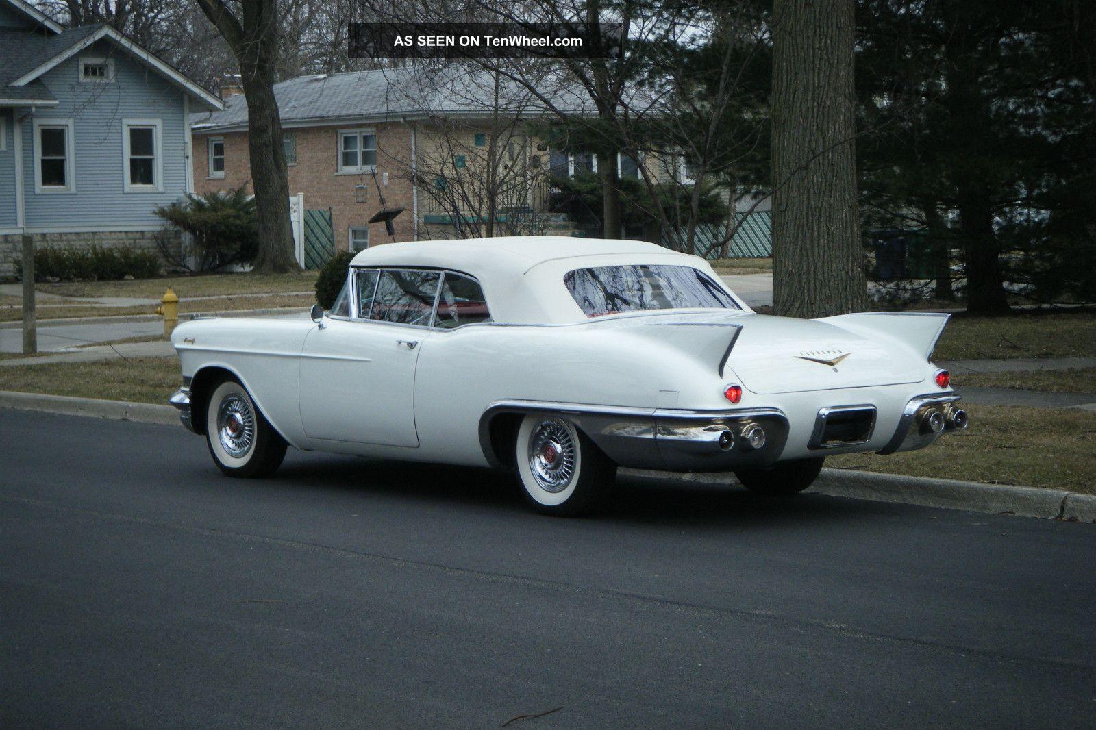 1957 cadillac eldorado convertible factory air eldorado photo. Cars Review. Best American Auto & Cars Review