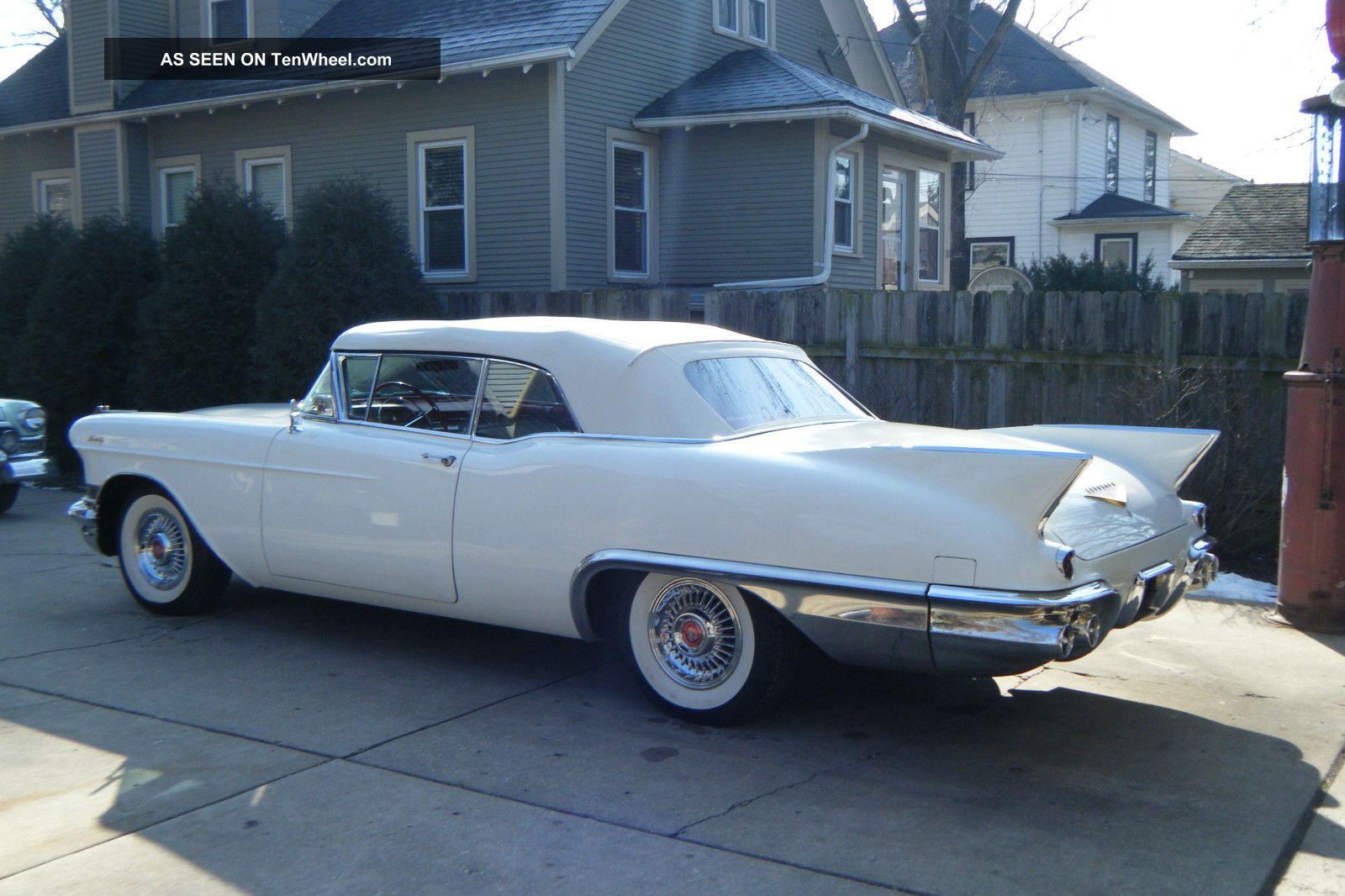 1957 Cadillac Eldorado Convertible Factory Air