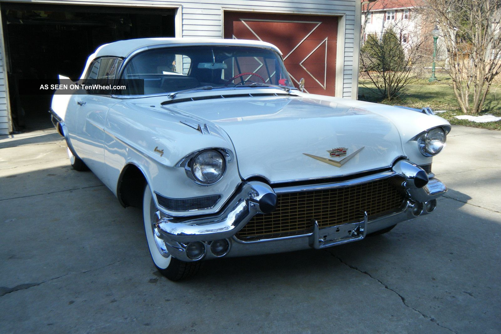 1957 Cadillac Eldorado Convertible Factory Air