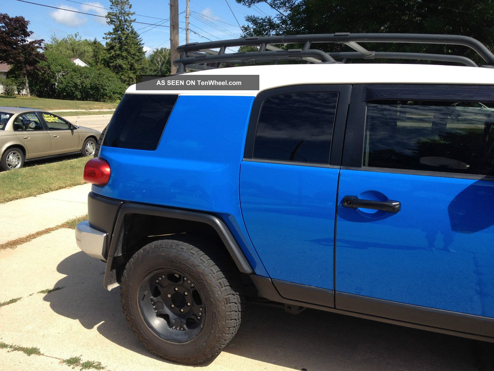 2007 Toyota Fj Cruiser Base Sport Utility 4 Door 4 0l