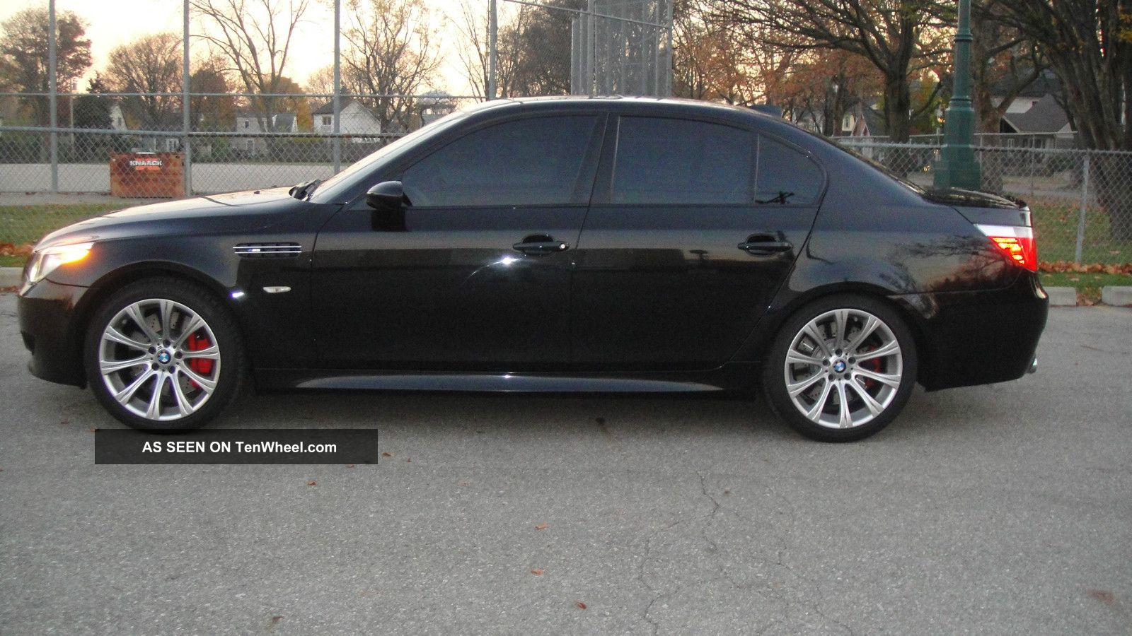 2007 Bmw M5 6 Speed Black / Black Every Option Available - 40k Mi - Tires 08 M5 photo