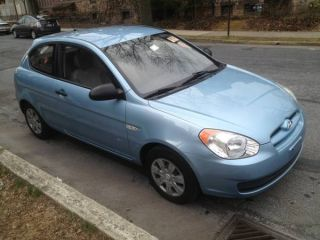 2007 Hyundai Accent Gs Hatchback 2 - Door 1.  6l photo