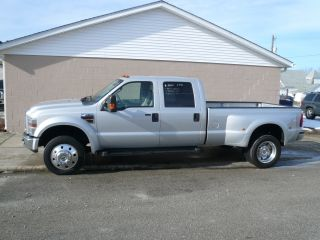 2008 Ford F - 450 Duty Xlt Crew Cab Pickup 4 - Door 6.  4l Indash photo
