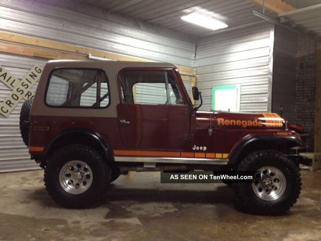 Jeep Cj Renegade V Lgw