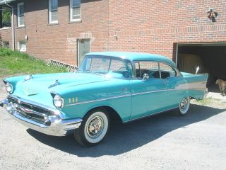 1957 Chevy Belair Rochester Fuelie photo