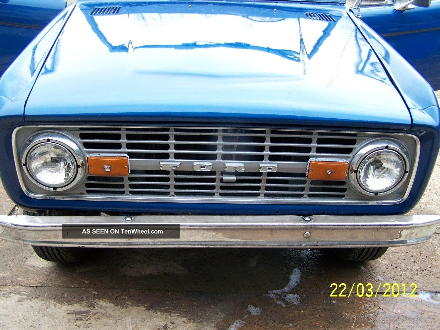 1977 Ford Bronco,  Automatic,  Power Steering,  Power Disc Brakes 302 V - 8 Bronco photo