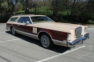 1978 Lincoln Continental Mark V Cartier Station Wagon Custom One Of A Kind photo