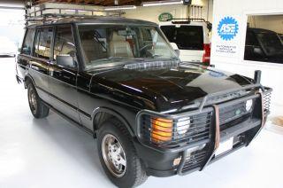 1994 Range Rover County Lwb Black photo