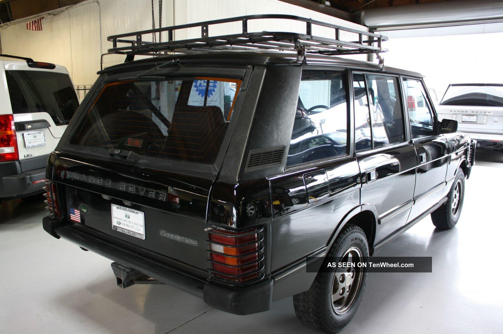 Range Rover County Lwb Black Lgw on 1994 Hummer H1 Specs