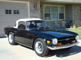 1972 Triumph Tr - 6 Convertible With Overdrive photo
