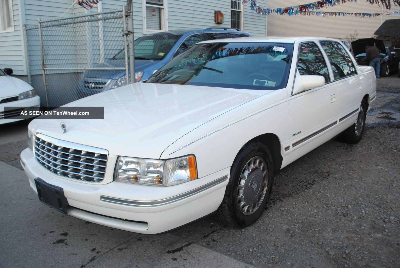 1999 cadillac deville base sedan 4 door 4 6l. Cars Review. Best American Auto & Cars Review