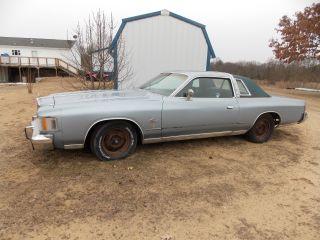 1979 Chrysler Cordoba Base Hardtop 2 - Door 5.  2l photo
