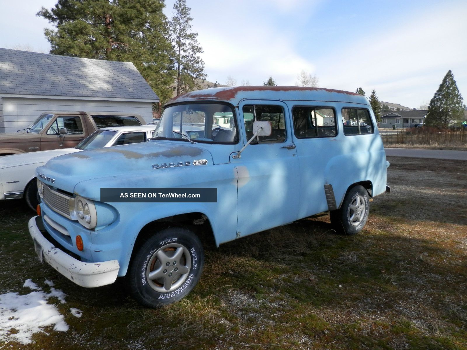 1965 Dodge Town Wagon - Ready To Restore,  Customize Or Hotrod - In Running Condition Other photo