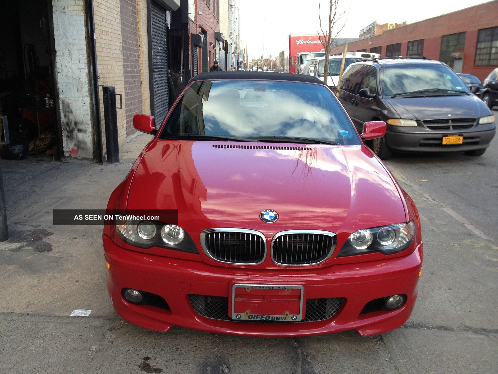 2005 Bmw 330ci Convertible,  M Performance Pkg,  59k,  Red 100%feed 3-Series photo